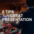8 tips successful presentation