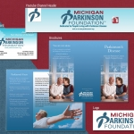 Michigan Parkinsons Graphic Design Projects