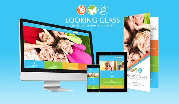 Website Design & Development for Looking Glass CDC