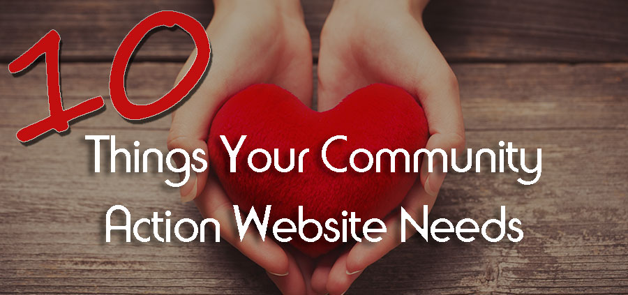 10 Things Your Community Action Website Needs