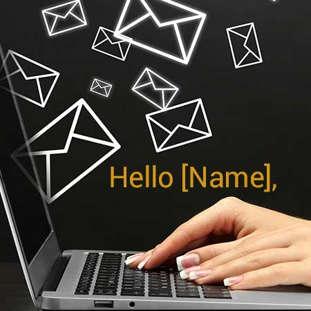 personalize email blog