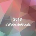 Courtland's 2018 Website Goals