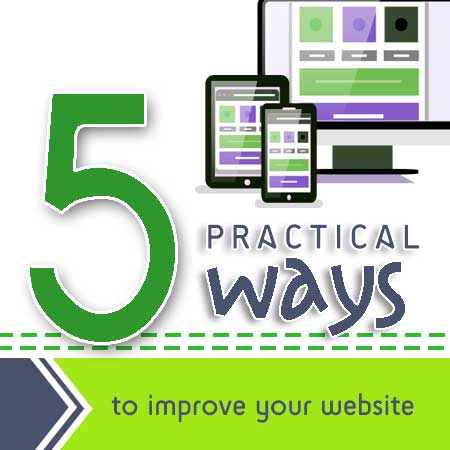Courtland Consulting - 5 Ways to Improve Your Website