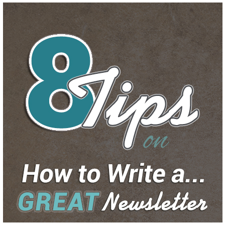 Courtland Consulting - 8 Tips on How to Write a Great Newsletter