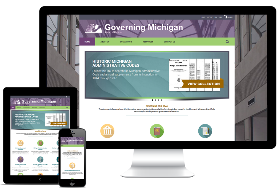 Governing Michigan Website Redesign