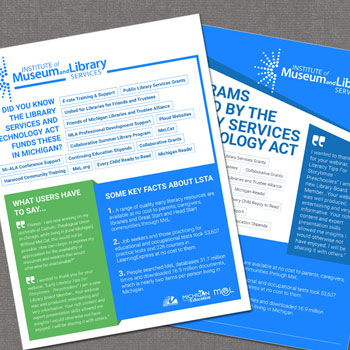 Institute of Museum and Library Services Magazine Ads
