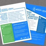 Small Business Web Design - Institution of Museum and Library Services Magazine Ads