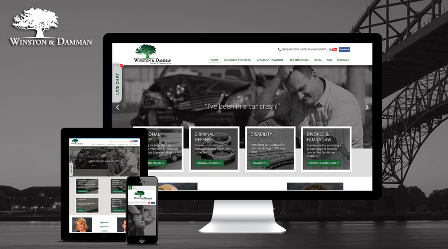 Courtland Consulting Website Redesign - Winston Damman