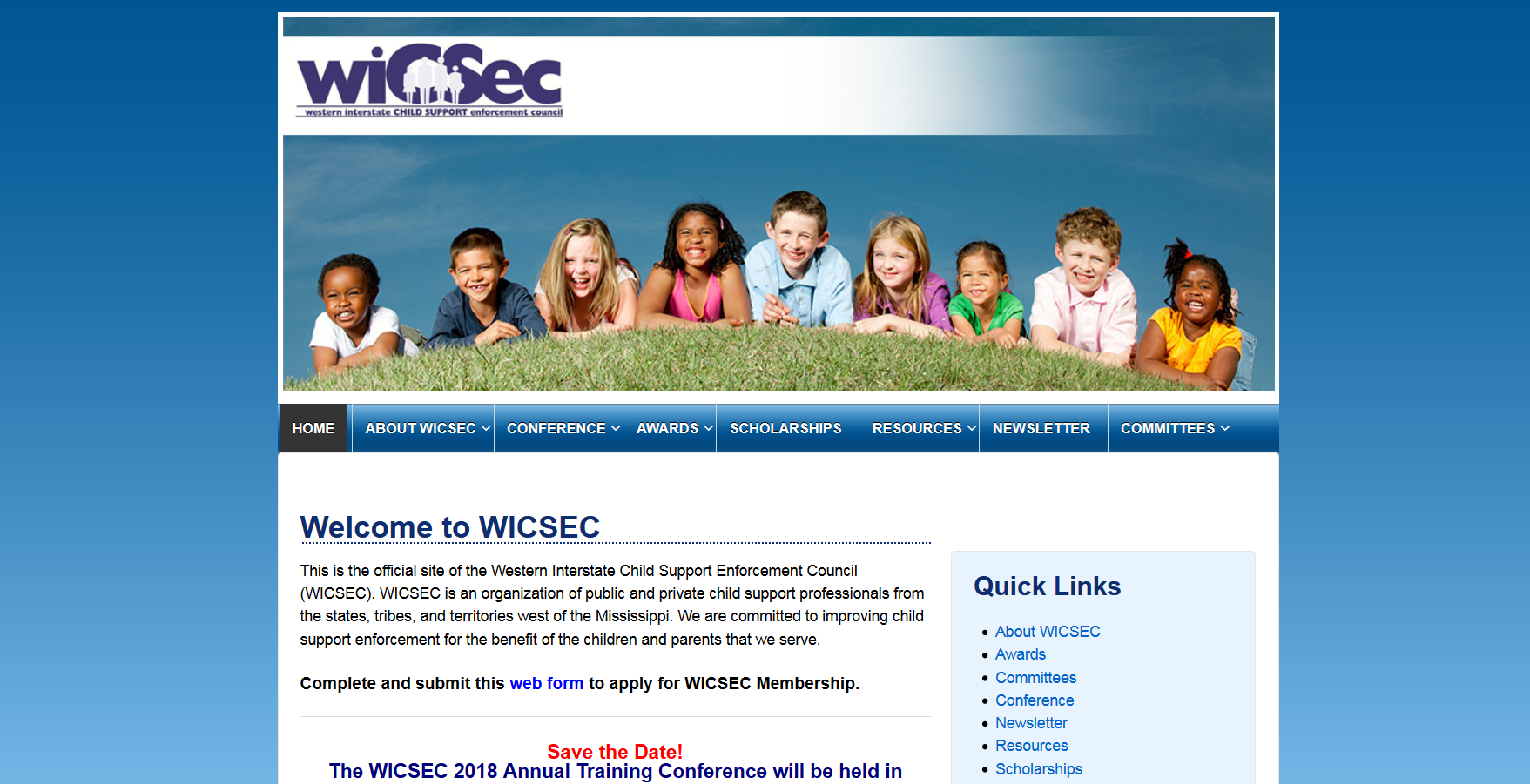 WICSEC  Old Site