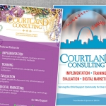 Nonprofit Website Design - Courtland Consulting Child Support Conference Materials