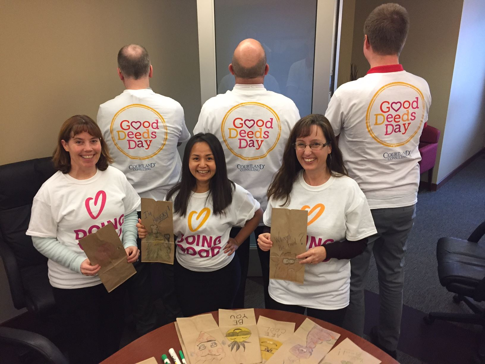 Courtland Consulting Good Deeds Day
