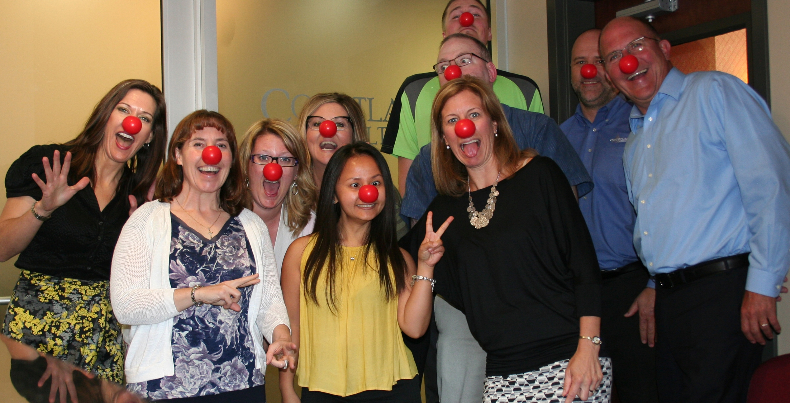 Courtland Consulting - Red Nose Day