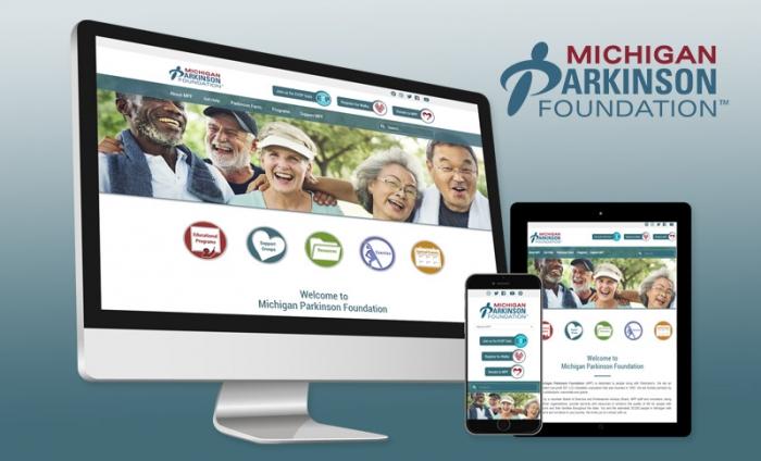 Website Redesign - Michigan Parkinsons Foundation
