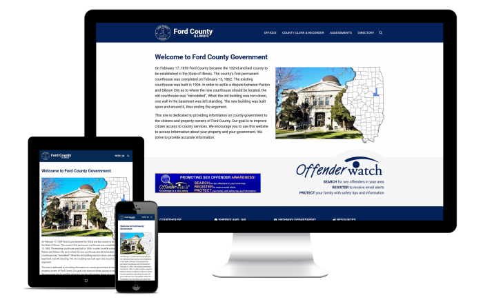 Ford County Responsive Website
