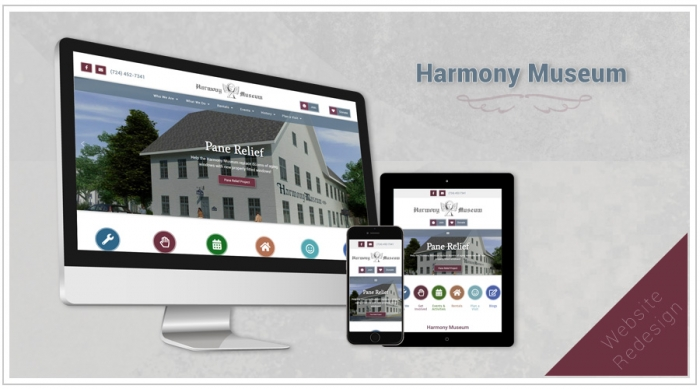 Harmony Museum Website Design