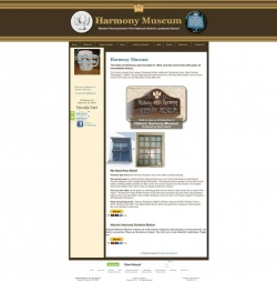 Harmony Museum Old Website