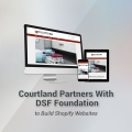 Courtland Partners with DSF Foundation