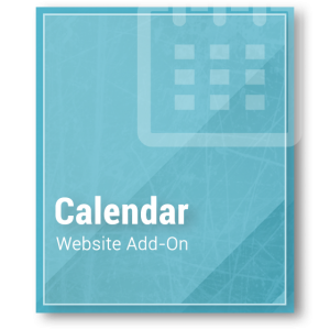 Website Calendar Add-on
