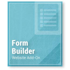 Website Add-On - Form Builder