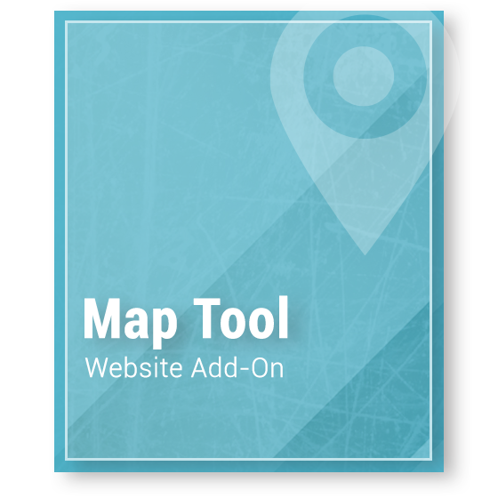 Website Add-On Map Tool