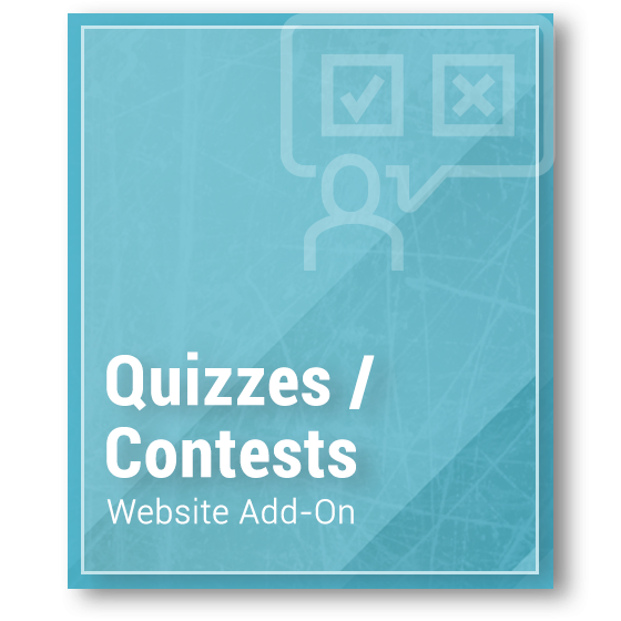 Website Add-On - Quizzes - Contests