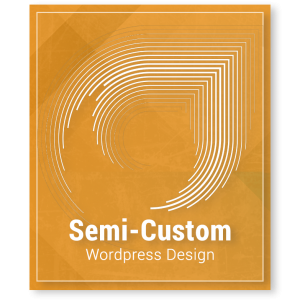 Wordpress Website Design - Semi-Custom