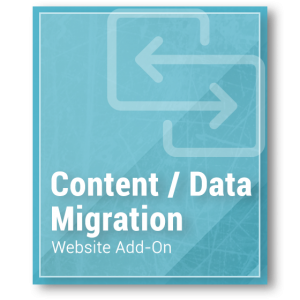 Website Add-On - Content Strategy & Data Migration