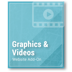 Website Add-On - Graphics & Videos