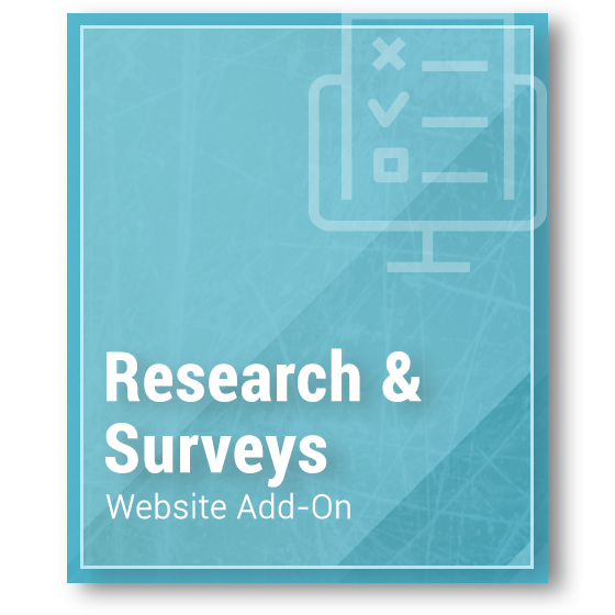 Website Add-On - Competitor Research & Surveys
