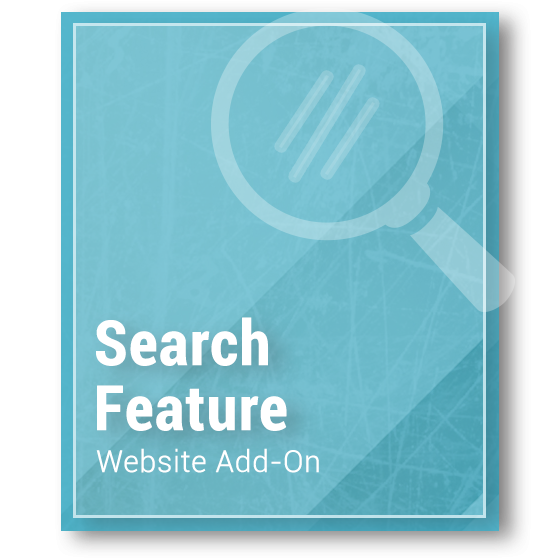 Website Add-On - Search Feature