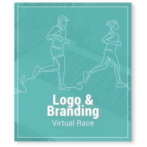Virtual Race Fundraising Logo Design